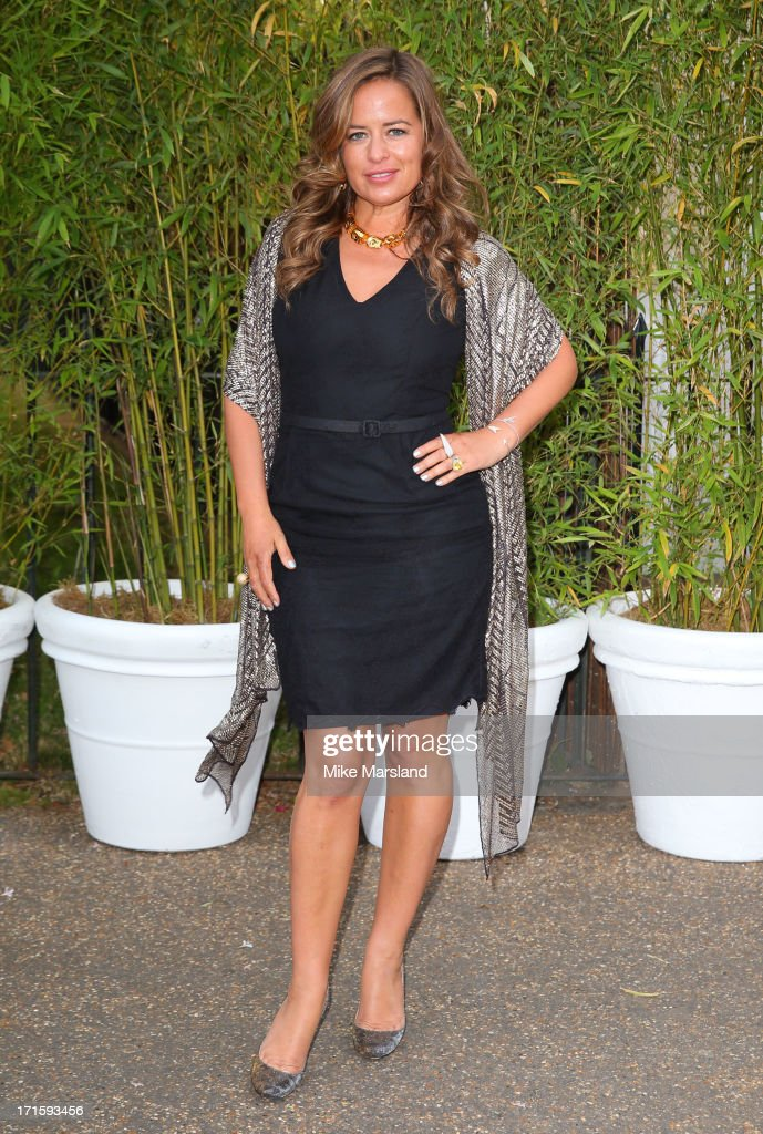 Jade Jagger attends the annual Serpentine Gallery summer party at The Serpentine Gallery on June 26 2013 in London England