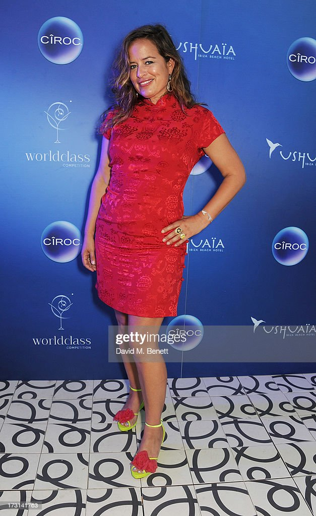 Jade Jagger attends the CIROC Party at Ushuaia on day 5 of the DIAGEO RESERVE WORLD CLASS Global Final on July 8 2013 in Ibiza Spain