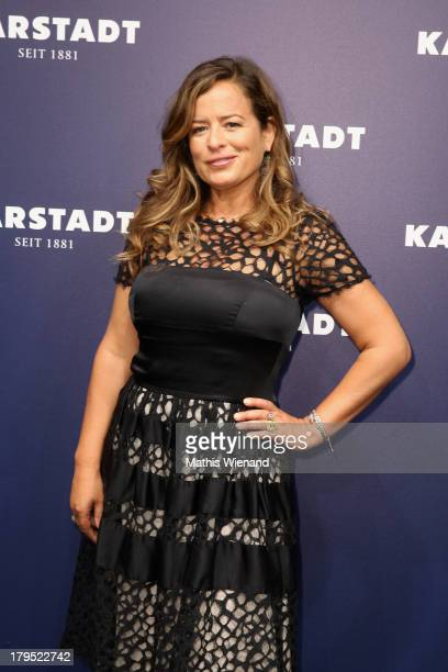 Jade Jagger attends the 'Feel London By Karstadt' Launch Event at Karstadt Store Duesseldorf on September 4 2013 in Dusseldorf Germany