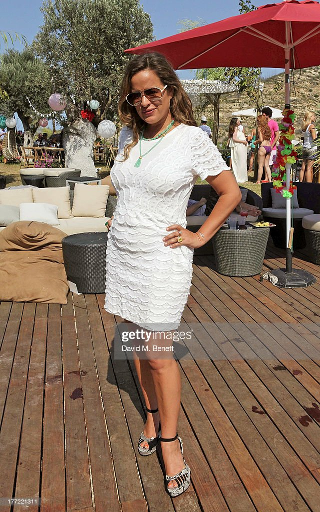 Jade Jagger attends the Ibiza Summer Party at Can Batista on August 22, 2013 in Ibiza, Spain.