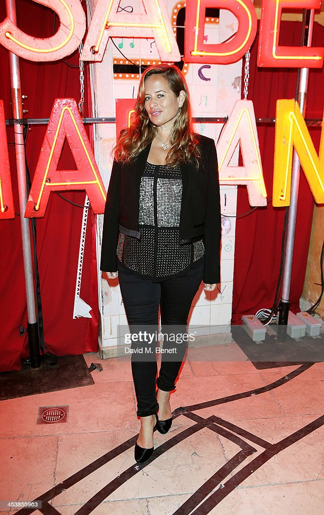 Jade Jagger attends the Isabel Marant London dinner and party on December 5 2013 in London United Kingdom