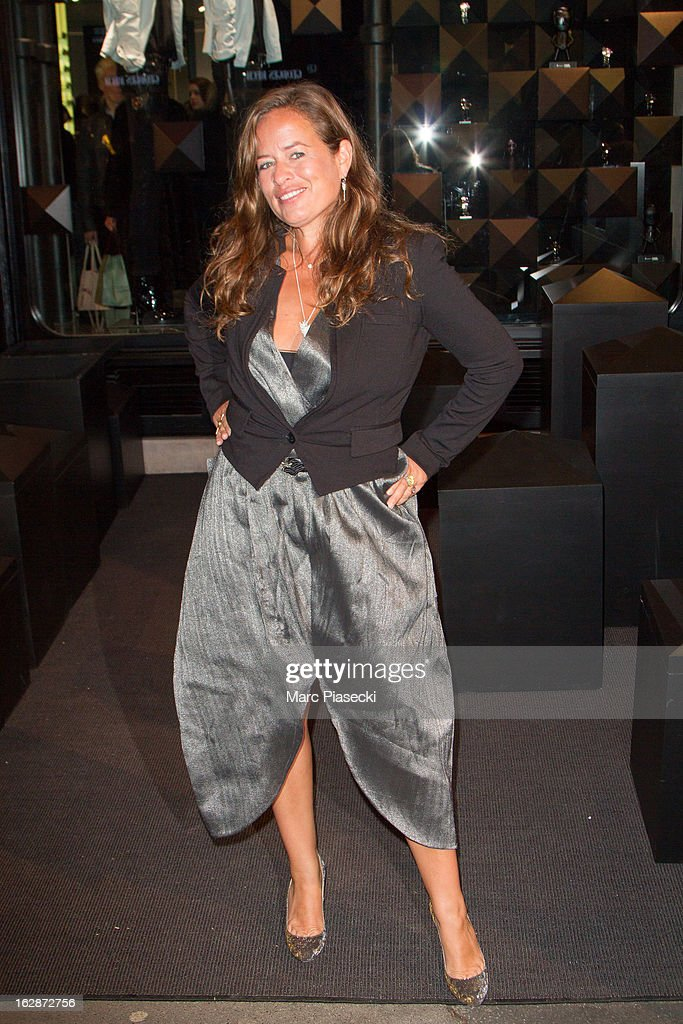 Jade Jagger attends the Karl Lagerfeld's Concept Store Opening as part of Paris Fashion Week on February 28, 2013 in Paris, France.