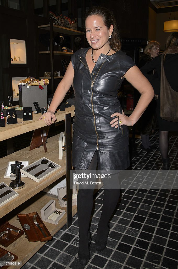 Jade Jagger attends the launch of Couture Lab hosted by Jade Jagger at 32 Grosvenor Crescent on November 28, 2012 in London, England.