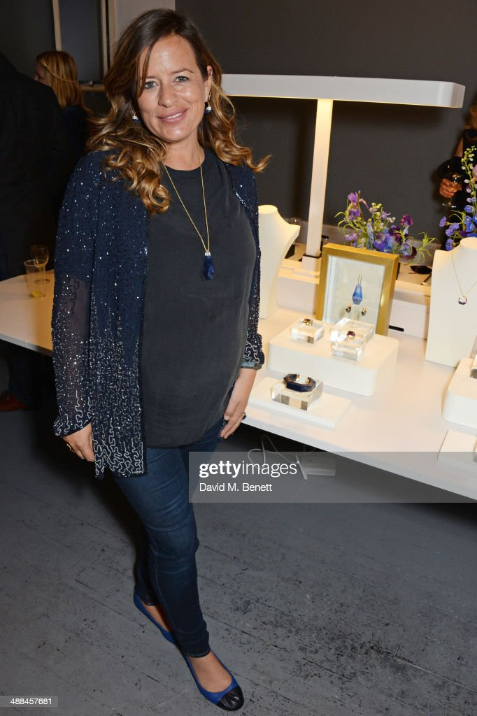Jade Jagger attends the launch of the new 'Jade Jagger' New Bond Street showroom on May 6 2014 in London England