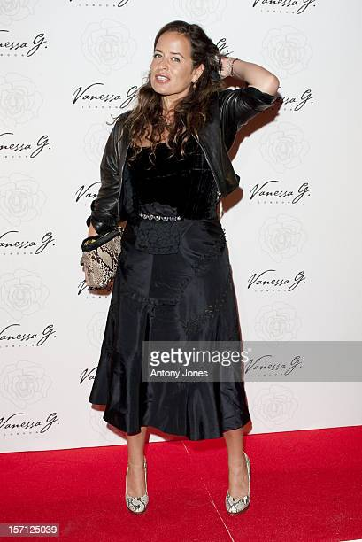 Jade Jagger Attends The Launch Party For Vanessa G At Banqueting House On March 23 2011 In London England