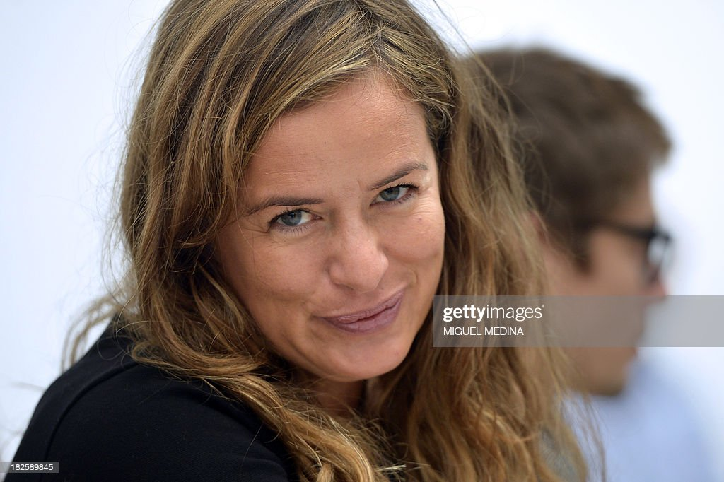 Jade Jagger, daughter of Rolling Stones lead singer, poses prior to the start of the Agnes B. 2014 Spring/Summer ready-to-wear collection fashion show, on October 1, 2013 in Paris. AFP PHOTO / MIGUEL MEDINA
