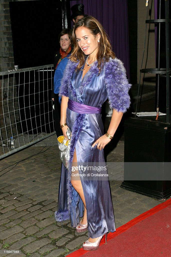 Jade Jagger during Amnesty International VIP Burlesque Party at Canvas Kings Cross Goods Yard in London Great Britain