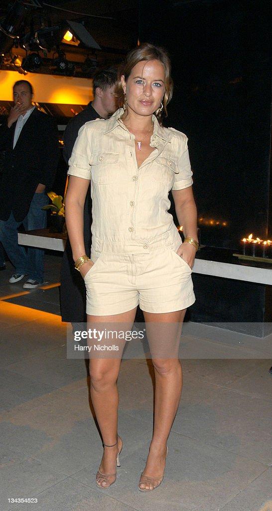 Jade Jagger during Donna Karan 20th Anniversary Party at Donna Karan Shop Bond Street in London Great Britain