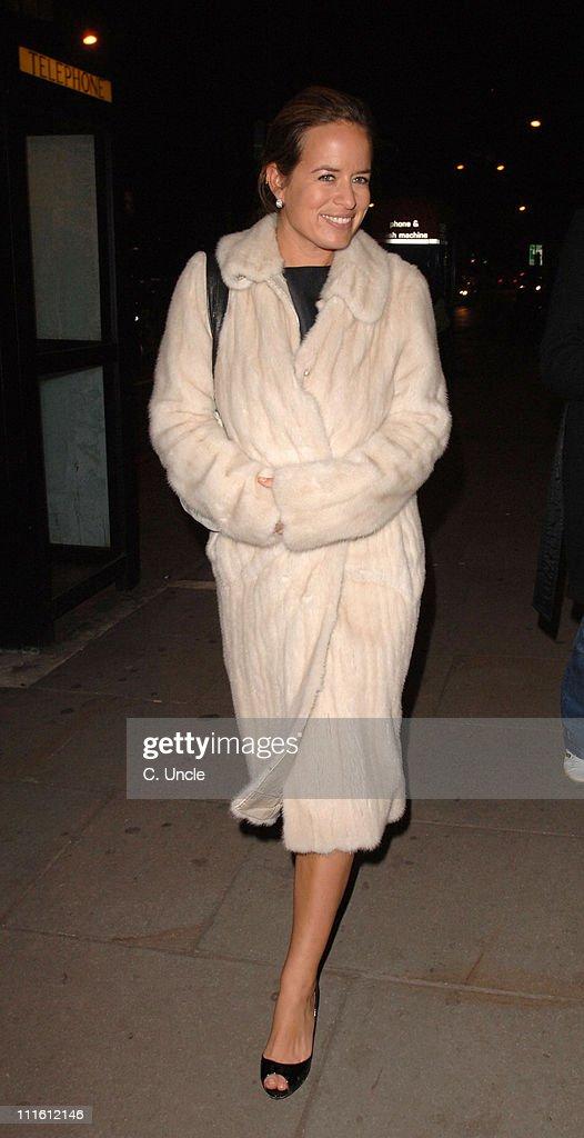Jade Jagger during Harvey Nichols Lanvin Arrivals at Harvey Nichols in London Great Britain