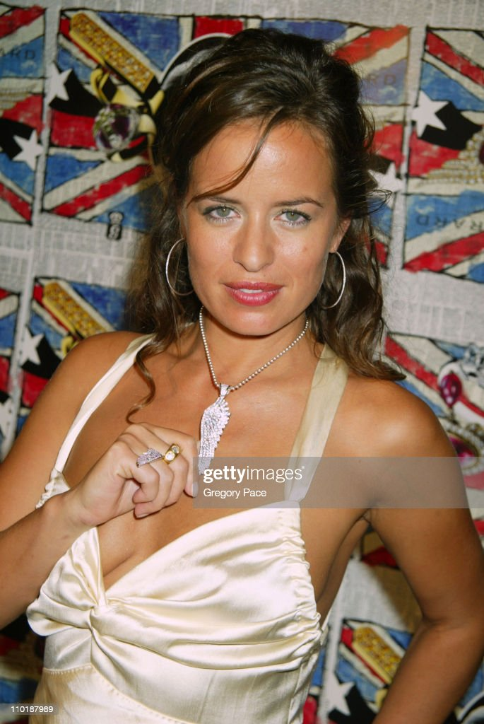 <a gi-track='captionPersonalityLinkClicked' href=/galleries/search?phrase=Jade+Jagger&family=editorial&specificpeople=203052 ng-click='$event.stopPropagation()'>Jade Jagger</a> during <a gi-track='captionPersonalityLinkClicked' href=/galleries/search?phrase=Jade+Jagger&family=editorial&specificpeople=203052 ng-click='$event.stopPropagation()'>Jade Jagger</a> Hosts Garrard 'Rock Hard' U.S. Launch Party - Inside Arrivals at Gramercy Park Hotel in New York City, New York, United States.