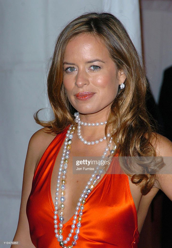 Jade Jagger during Moet Chandon Fashion Tribute to Matthew Williamson 2005 Arrivals at Old Billingsgate Market in London Great Britain