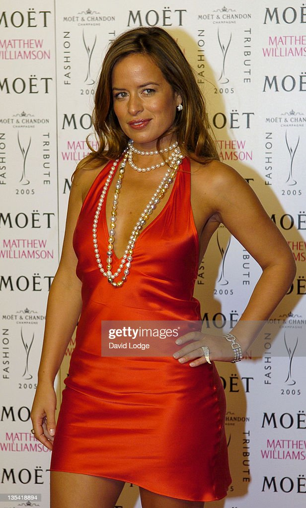 Jade Jagger during Moet Chandon Fashion Tribute to Matthew Williamson 2005 Arrivals in London Great Britain