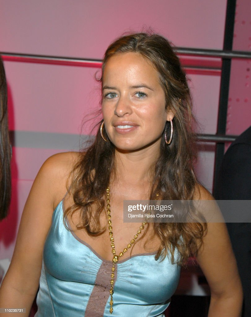 Jade Jagger during Olympus Fashion Week Fall 2005 Diane Von Furstenberg Backstage and Front Row at 389 West 12th Str in New York City New York United...