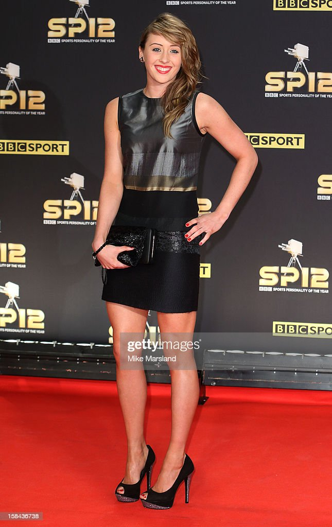 Jade Jones attends the BBC Sports Personality Of The Year Awards at ExCel on December 16, 2012 in London, England.