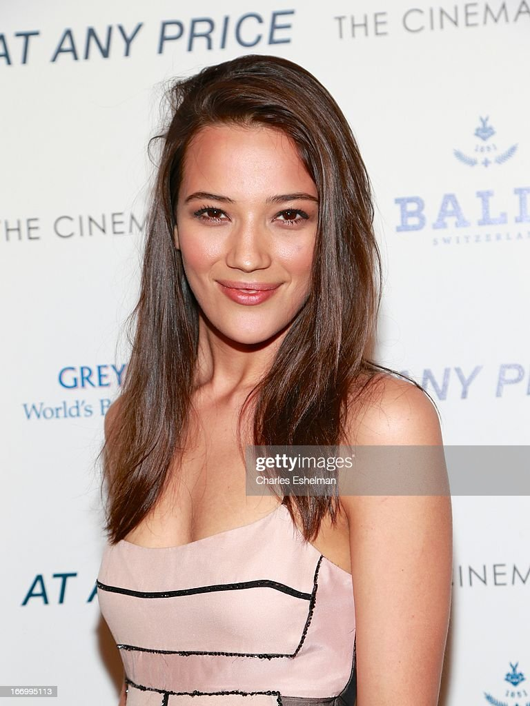 Jade Kentholder attends The Cinema Society & Bally screening of Sony Pictures Classics' 'At Any Price' at Landmark Sunshine Cinema on April 18, 2013 in New York City.