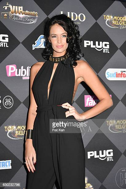 Jade Lagardere attend the 'Top Model Belgium 2017' Ceremony at Le Lido on December 18 2016 in Paris France