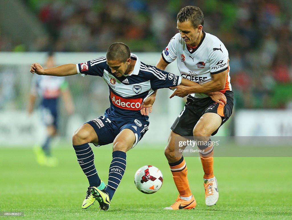 A-League Rd 13 - Melbourne v Brisbane