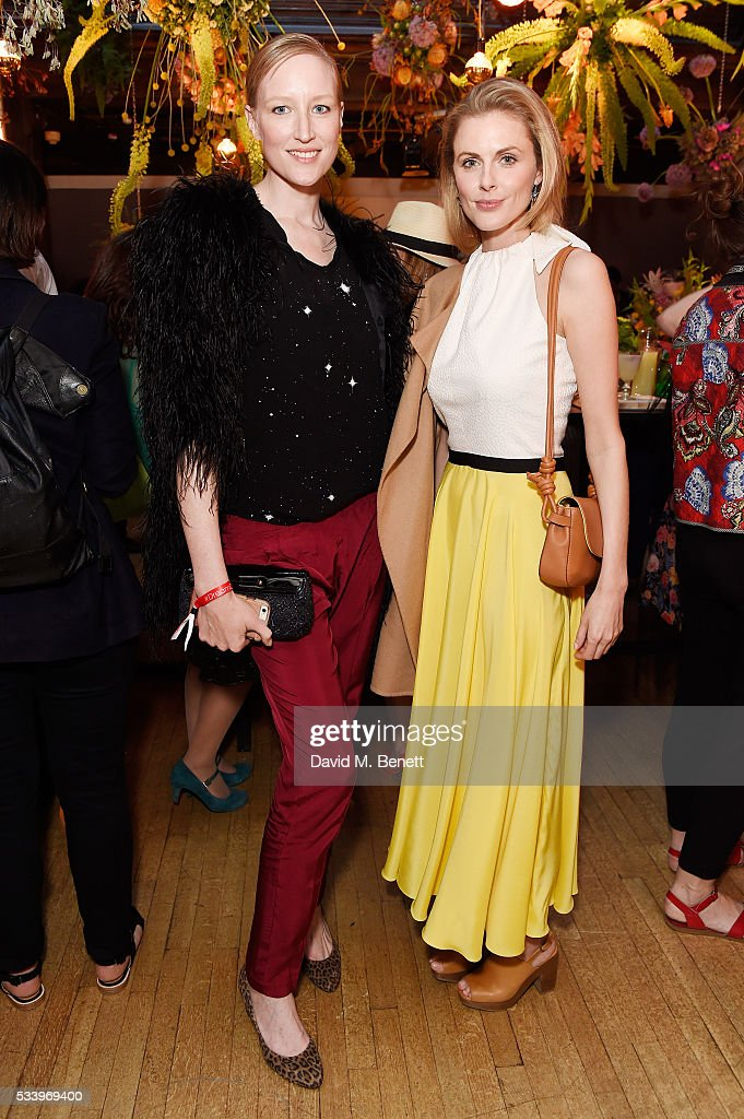 Jade Parfitt (L) and <a gi-track='captionPersonalityLinkClicked' href=/galleries/search?phrase=Donna+Air&family=editorial&specificpeople=209184 ng-click='$event.stopPropagation()'>Donna Air</a> attend the Cointreau Creative Crew Award Ceremony at Liberty London on May 24, 2016 in London, England.
