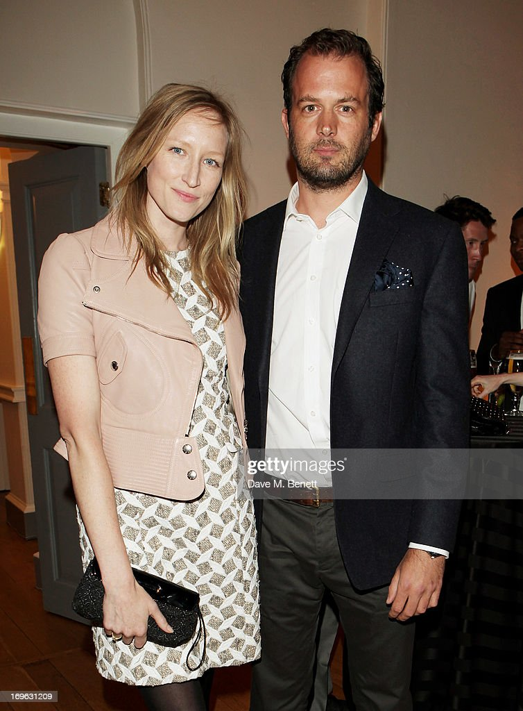 Jade Parfitt (L) and Jack Dyson attend the Esquire Summer Party in association with Stella Artois at Somerset House on May 29, 2013 in London, England.