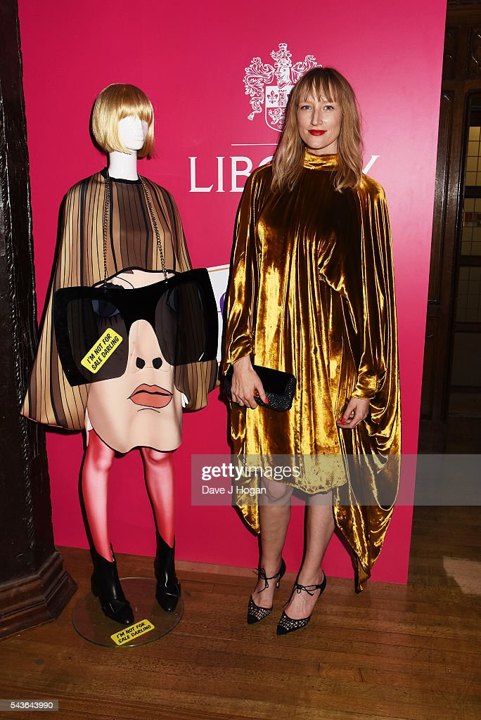Jade Parfitt attends the after party of the world premiere of 'Absolutely Fabulous: The Movie' at Liberty on June 29, 2016 in London, England.