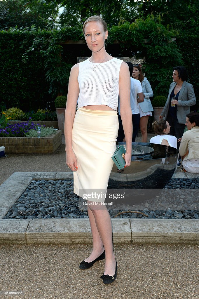 <a gi-track='captionPersonalityLinkClicked' href=/galleries/search?phrase=Jade+Parfitt&family=editorial&specificpeople=630420 ng-click='$event.stopPropagation()'>Jade Parfitt</a> attends the Club Monaco Garden Party hosted by Quentin Jones, Clara Paget and Annie Morris in Eaton Square on July 3, 2014 in London, England.
