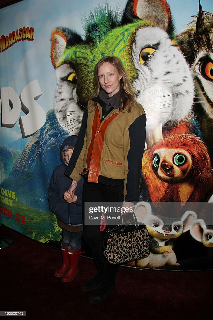<a gi-track='captionPersonalityLinkClicked' href=/galleries/search?phrase=Jade+Parfitt&family=editorial&specificpeople=630420 ng-click='$event.stopPropagation()'>Jade Parfitt</a> (C) attends 'The Croods' Premiere at Empire Leicester Square on March 10, 2013 in London, England.