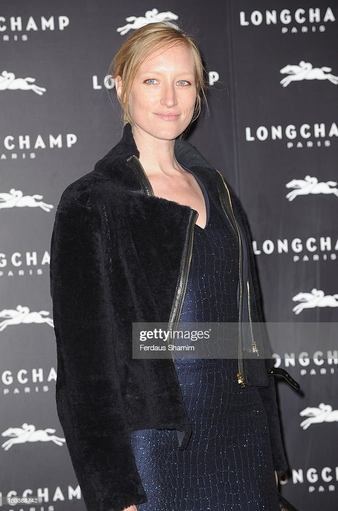 <a gi-track='captionPersonalityLinkClicked' href=/galleries/search?phrase=Jade+Parfitt&family=editorial&specificpeople=630420 ng-click='$event.stopPropagation()'>Jade Parfitt</a> attends the grand opening party of Longchamp Regent Street at Longchamp on September 14, 2013 in London, England.