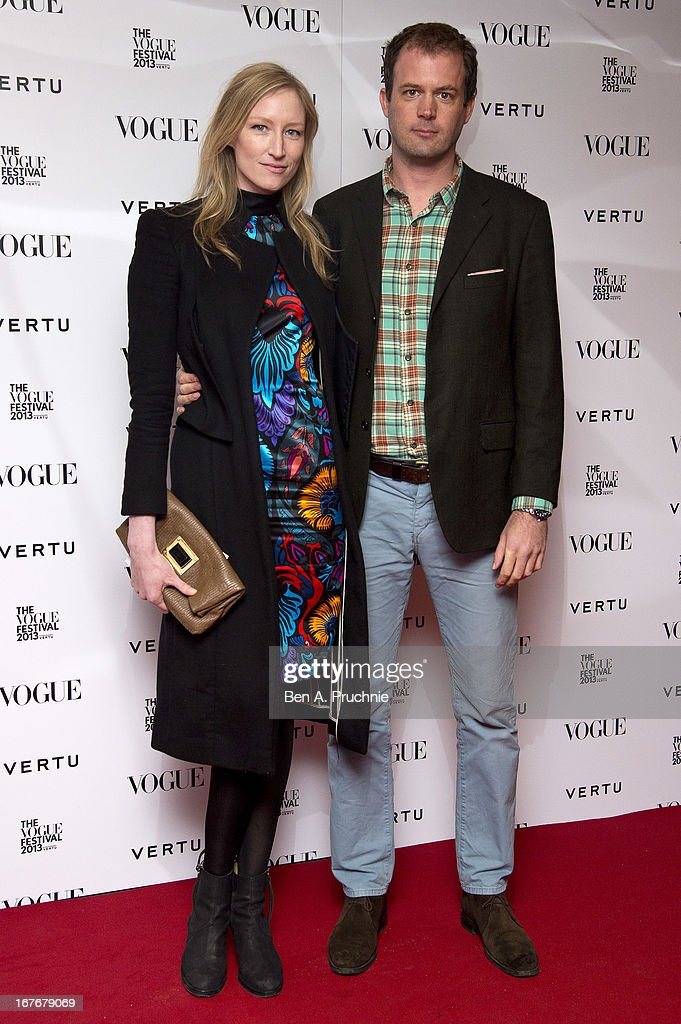 Jade Parfitt attends the opening party for The Vogue Festival in association with Vertu at Southbank Centre on April 27, 2013 in London, England.