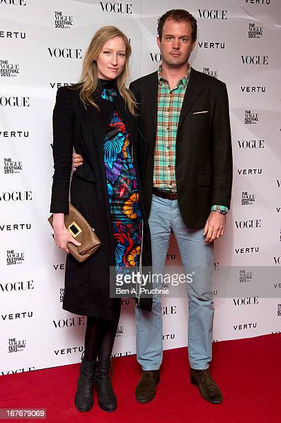 Jade Parfitt attends the opening party for The Vogue Festival in association with Vertu at Southbank Centre on April 27 2013 in London England