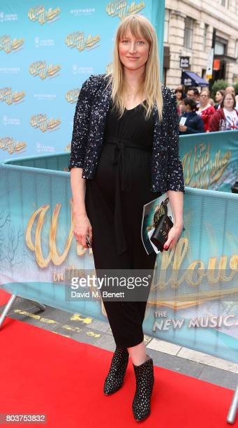 Jade Parfitt attends the press night performance of 'The Wind In The Willows' at the London Palladium on June 29 2017 in London England
