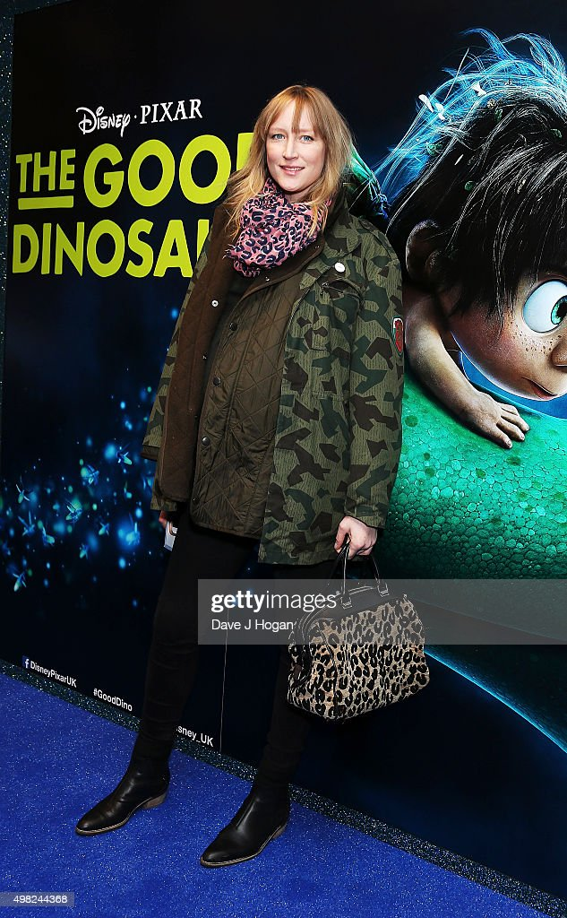 Jade Parfitt attends the UK Gala Screening of 'The Good Dinosaur' at Picturehouse Central on November 22, 2015 in London, England.