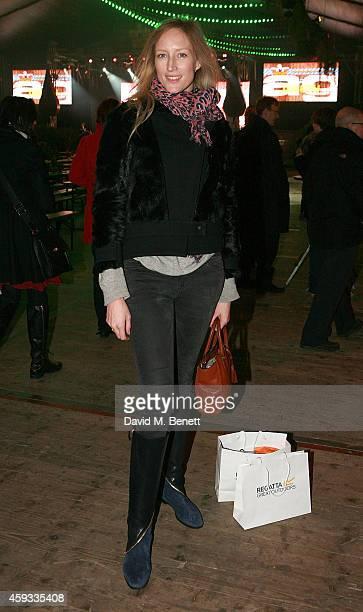 Jade Parfitt attends the Winter Wonderland VIP opening at Hyde Park on November 20 2014 in London England