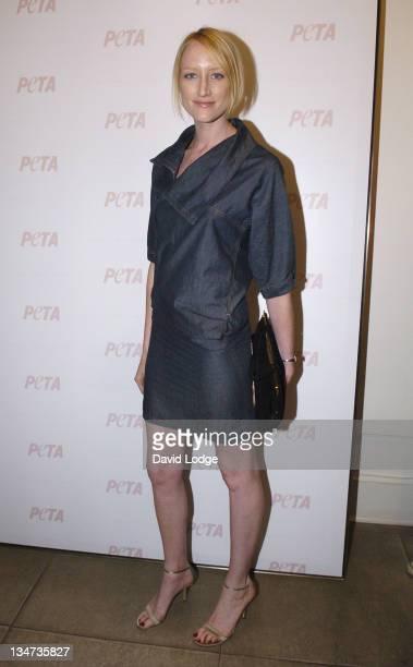 Jade Parfitt during PETA's Humanitarian Awards Inside at 30 Bruton Street in London Great Britain