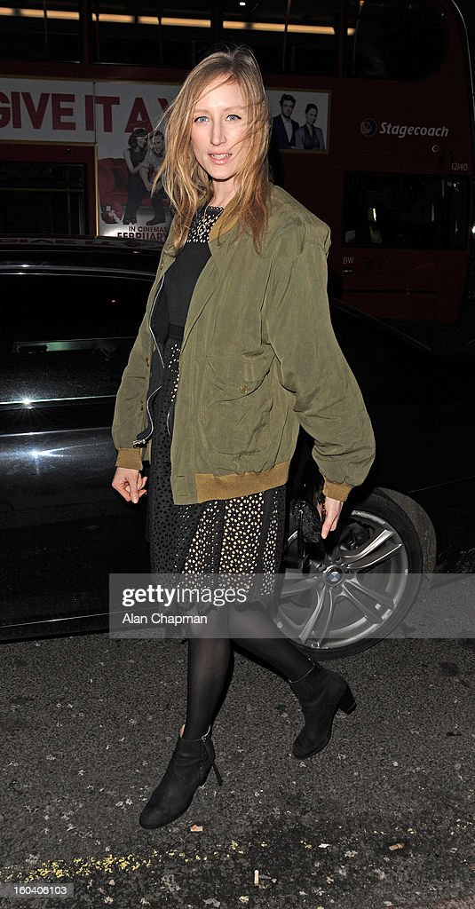 Jade Parfitt sighting at Sketch on January 30, 2013 in London, England.