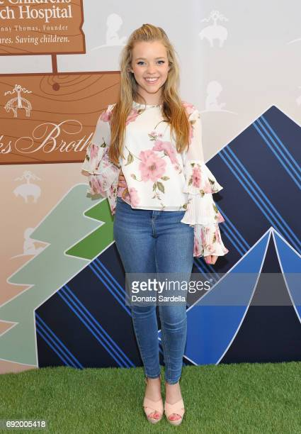 Jade Pettyjohn at the Brooks Brothers Beverly Hills summer camp party benefitting St Jude Children's Research Hospital at Brooks Brothers Rodeo on...