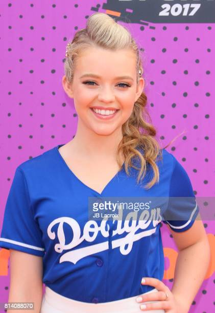 Jade Pettyjohn attends the 2017 Nickelodeon Kids' Choice Sports Awards at Pauley Pavilion on July 13 2017 in Los Angeles California