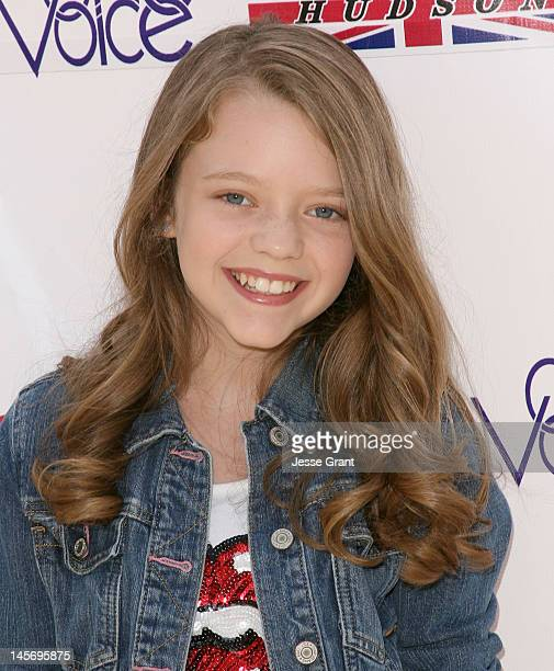 Jade Pettyjohn attends the 6th Annual Kidstock Music and Arts Festival at Greystone Mansion on June 3 2012 in Beverly Hills California