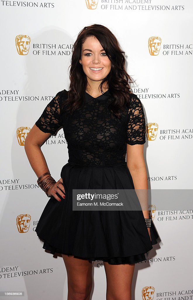 Jade Ramsey of Nickelodeon's House of Anubis attends 2012 Children's BAFTA Awards at Hilton Park Lane on November 25, 2012 in London, England.