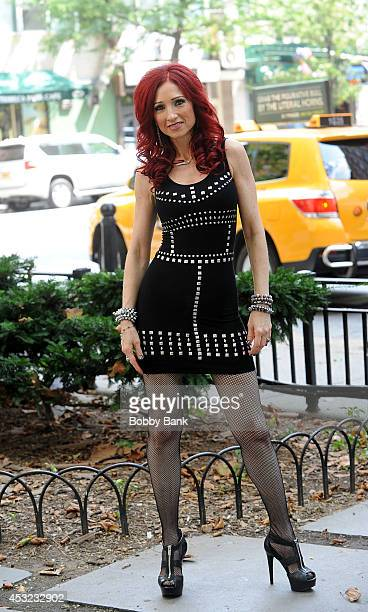 Jade Starling 'Captive' Record Release Photo Shoot on August 5 2014 in New York City