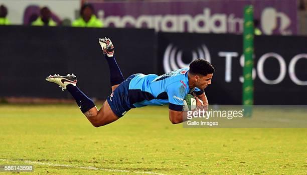 Jade Stighling of the Blue Bulls during the Currie Cup match between Vodacom Blue Bulls and DHL Western Province at Loftus Versveld on August 05 2016...