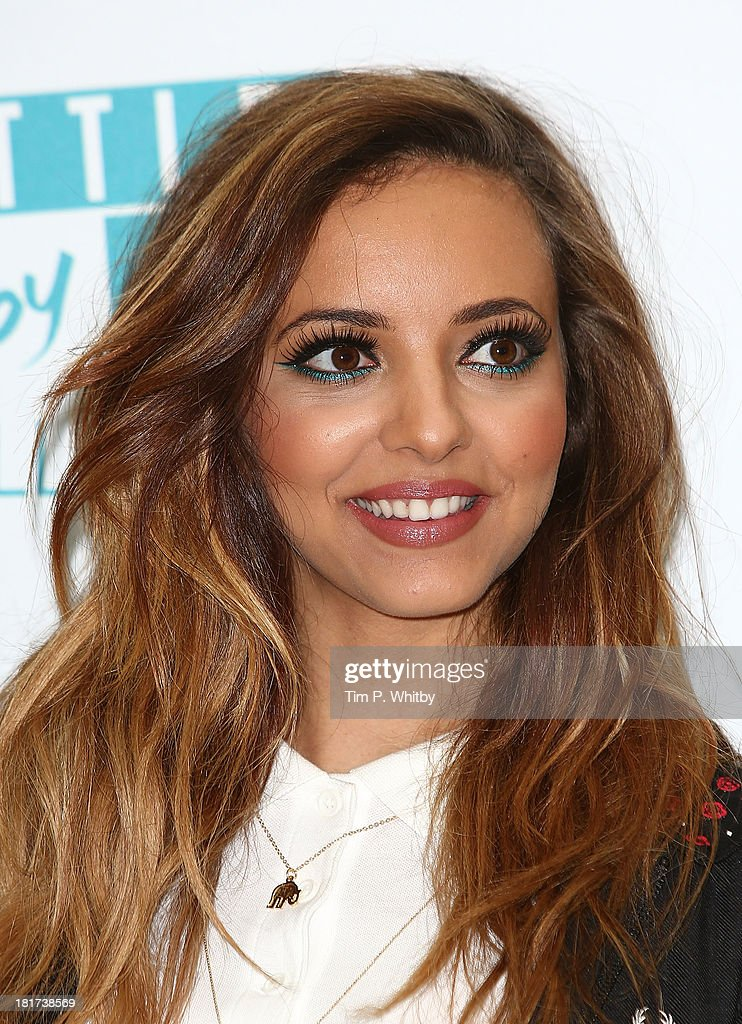 little mix launch their make up range getty images. Black Bedroom Furniture Sets. Home Design Ideas