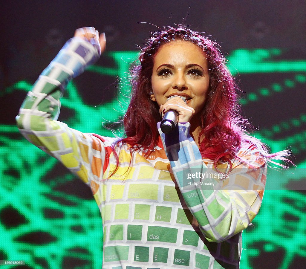 Jade Thirlwall from Little Mix performs at the Cheerios Childline concert at 02 on November 24, 2012 in Dublin, Ireland.