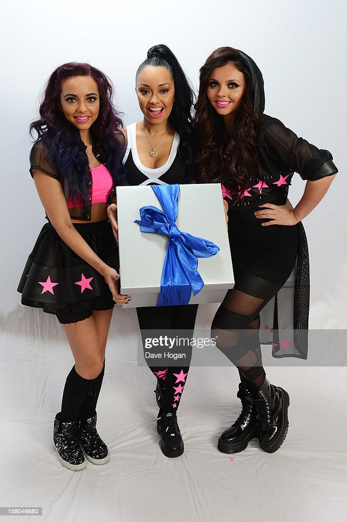 Jade Thirlwall, Leigh Anne Pinnock and Jesy Nelson of Little Mix pose for a portrait at The Capital FM Jingle Bell Ball at The O2 Arena on December 9, 2012 in London, England.
