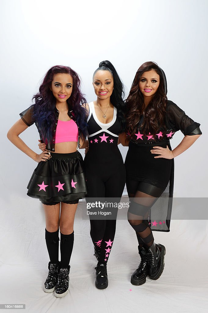 Jade Thirlwall, Leigh Anne Pinnock and Jesy Nelson of Little Mix pose for a portrait on December 8, 2012 in London, England.
