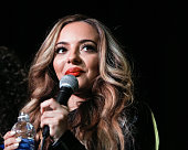 Jade Thirlwall of Little Mix performs at the Los Angeles album signing for Little Mix at Hard Rock Cafe Hollywood CA on November 3 2015 in Hollywood...