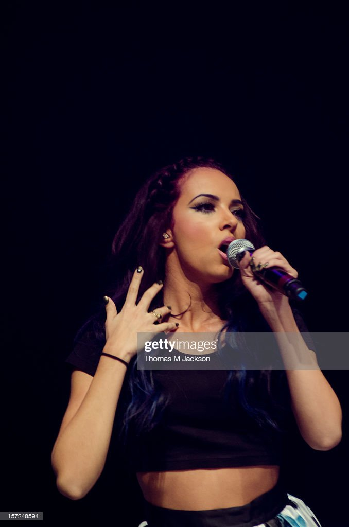 Jade Thirlwall of Little Mix performs onstage at Metro Radio Live 2012 at Metro Radio Arena on November 30, 2012 in Newcastle upon Tyne, England.