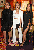 Jade Thirlwall Perrie Edwards and LeighAnne Pinnock of Little Mix attend Annabel's for an intimate dinner and exclusive performance with Selena Gomez...