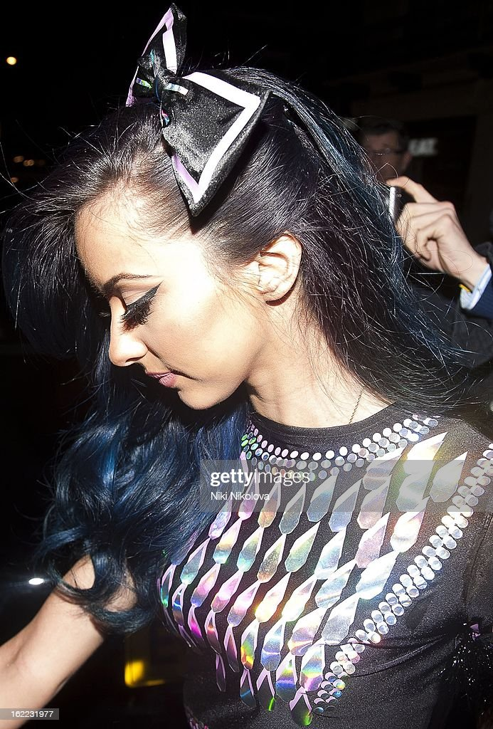 Jade Thirlwall sighting on February 20, 2013 in London, England.