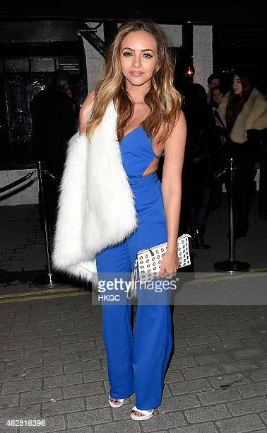 Jade Thirwall attends the Oh My Love Pre London Fashion Week Party at The Scotch of St James on February 5 2015 in London England