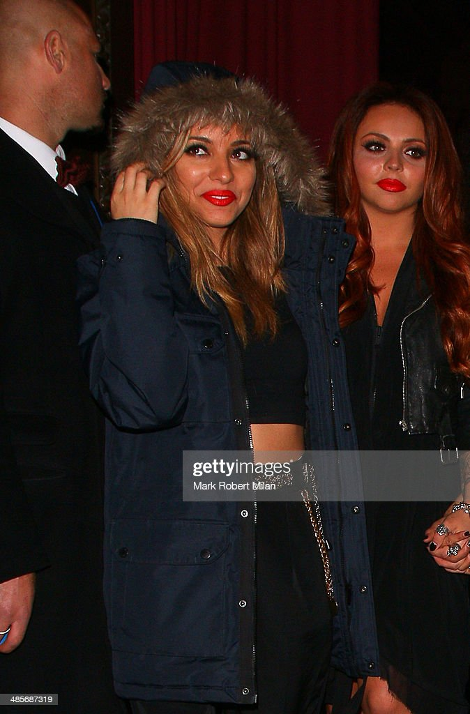 Jade Thirwall of Little Mix at Steam and Rye bar and restaurant on April 19, 2014 in London, England.